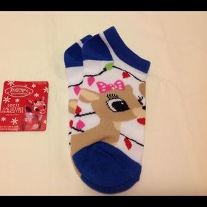 """Other - 🎄""""CLARICE"""" RUDOLPH THE RED NOSED REINDEER SOCKS"""